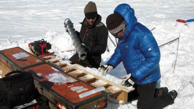 núcleo de hielo de Groenllandia