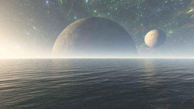 océano extraterrestre