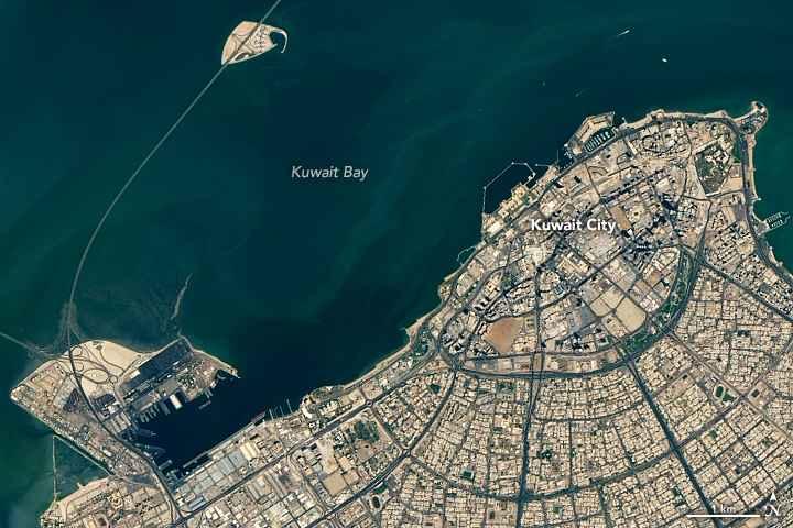 puente de Kuwait, detalle