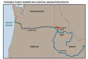 ruta hasta Cooper Ferry, Idaho