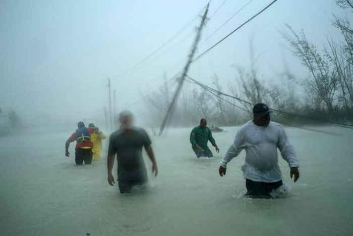 vientos en Freeport, Bahamas