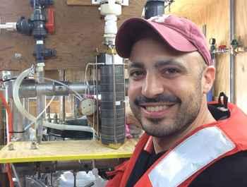 Steven Beaupré y el generador de aerosoles