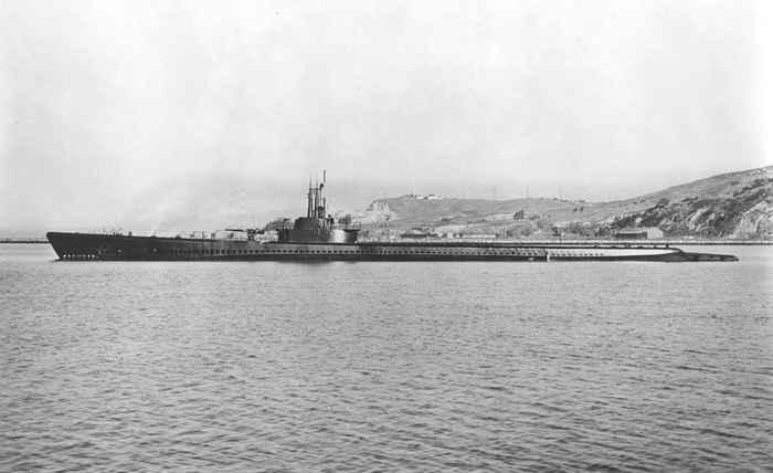 submarino USS Tang