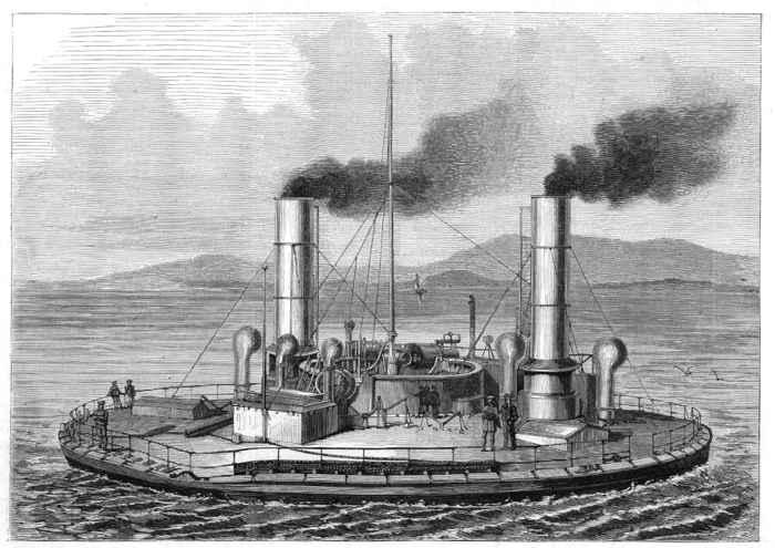 barco circular ruso Novgorod