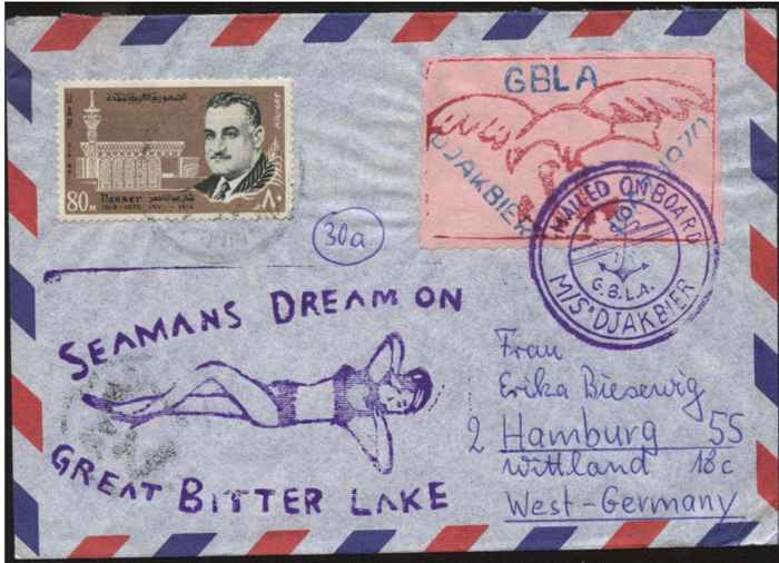carta de la Flota Amarilla