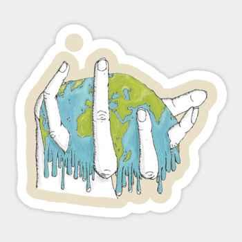 deshielo global, dibujo