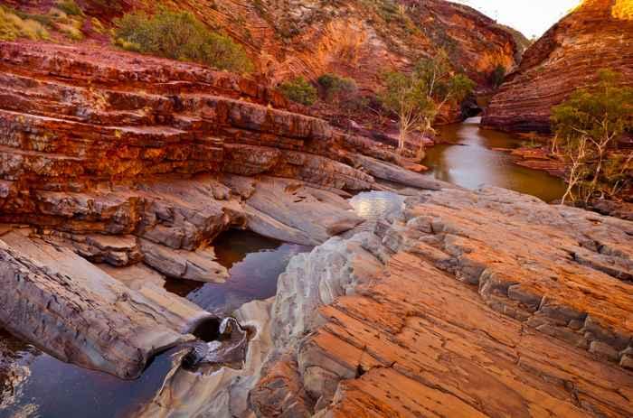 formación rocosa de Pilbara