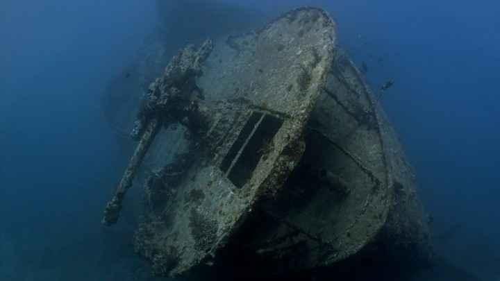 naufragio con plomo antiguo