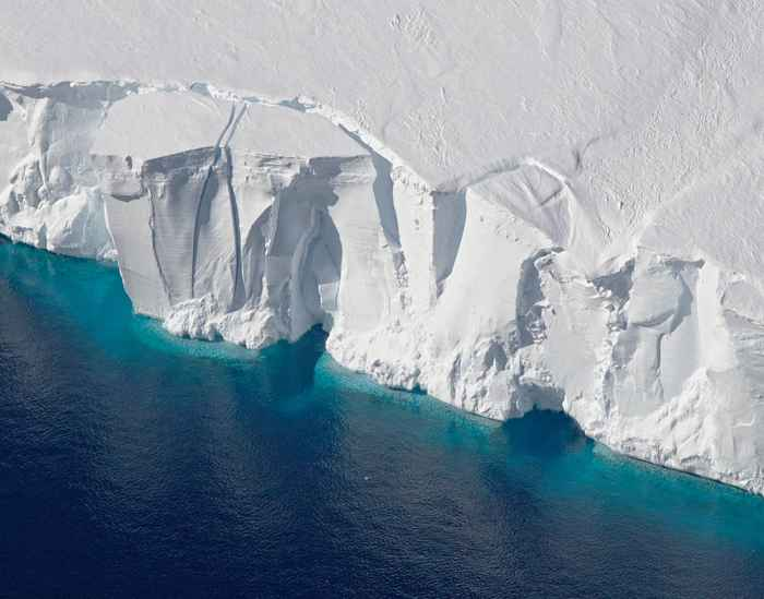 plataforma de hielo Getz
