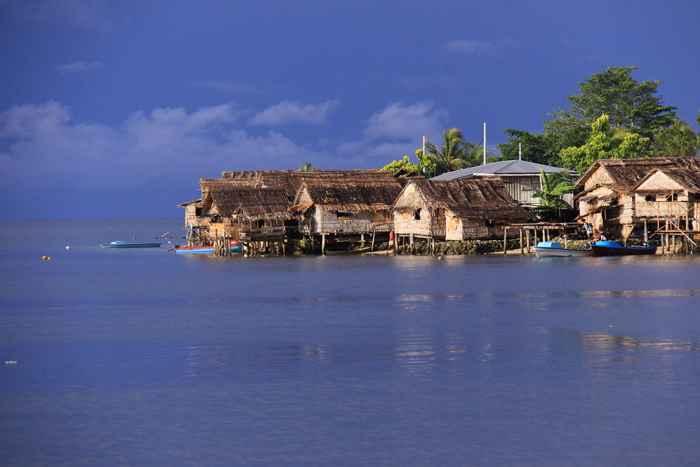subida del nivel del mar en las Islas Salomon
