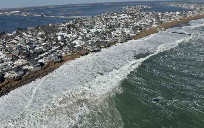 subida del nivel del mar con la temperatura