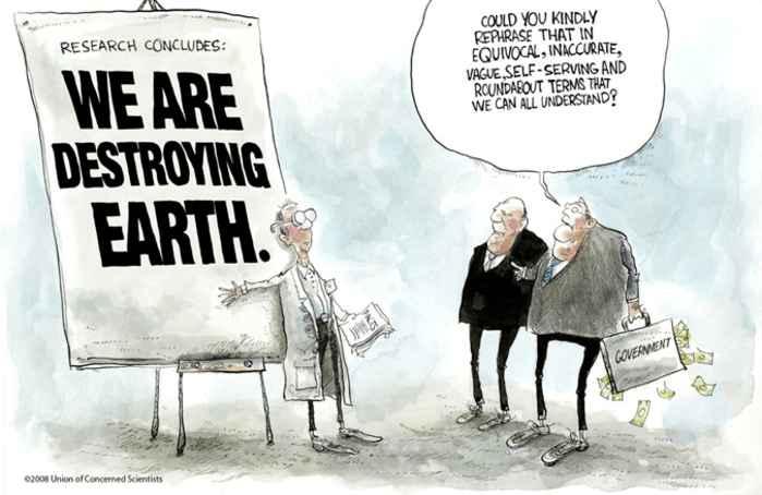 científicos alertan de la destrucción de la Tierra