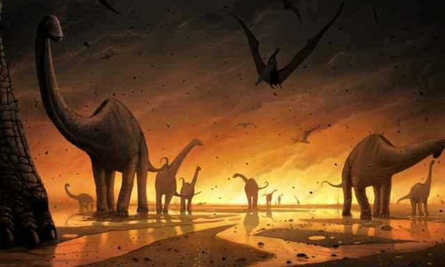 dinosaurios y contaminación por mercurio