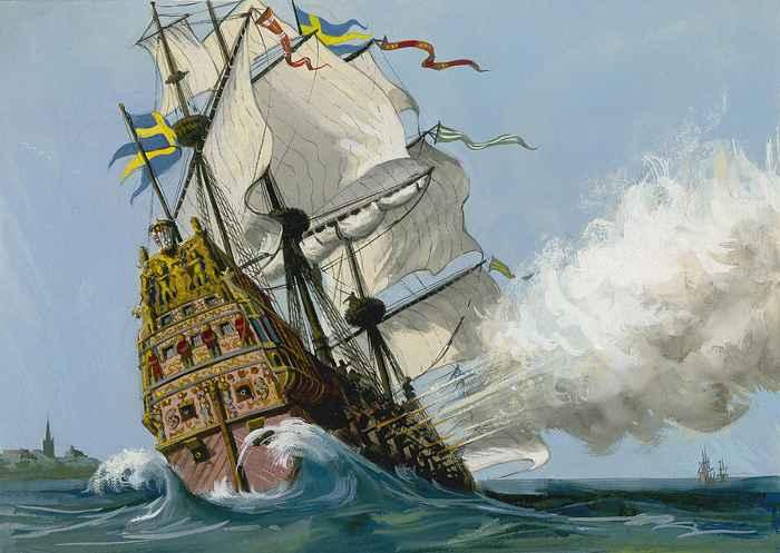 hundimiento del Vasa