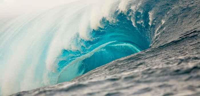 olas y cambio climático