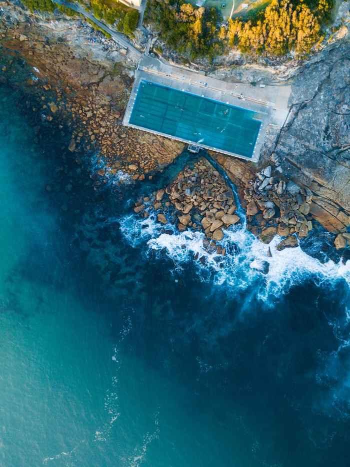 Freshwater Beach Rock Pool