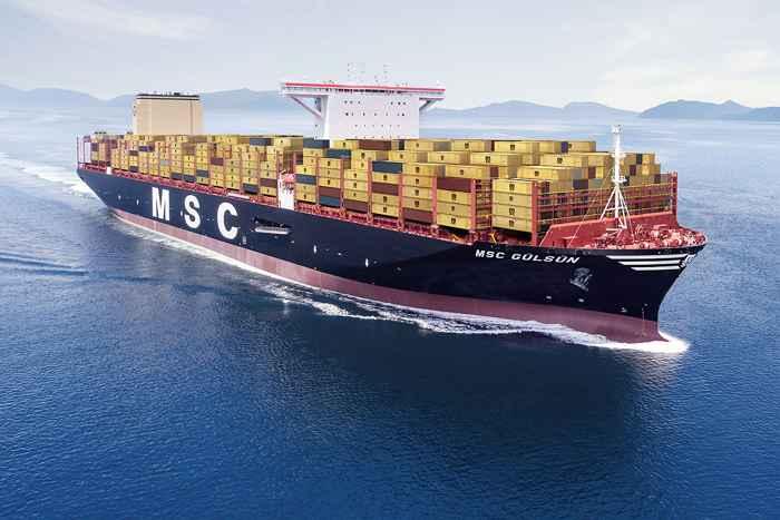 MSC Gulsun el portacontnedores más grande del mundo