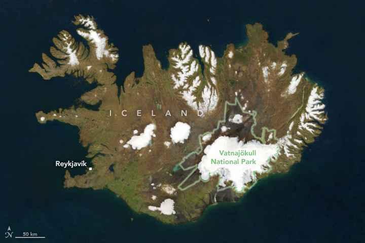 Parque Nacional Vatnajökull de Islandia