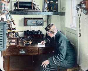 sala de radio del RMS Titanic
