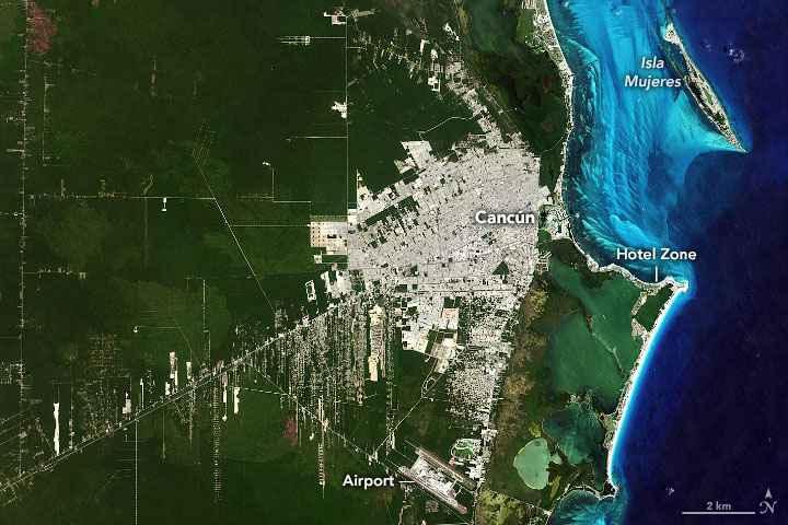 Cancún en 2019