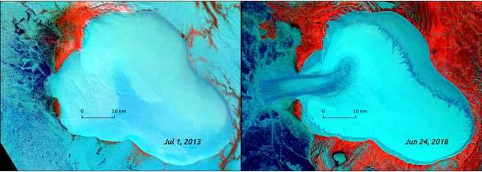 capa de hielo Vavilov, Rusia