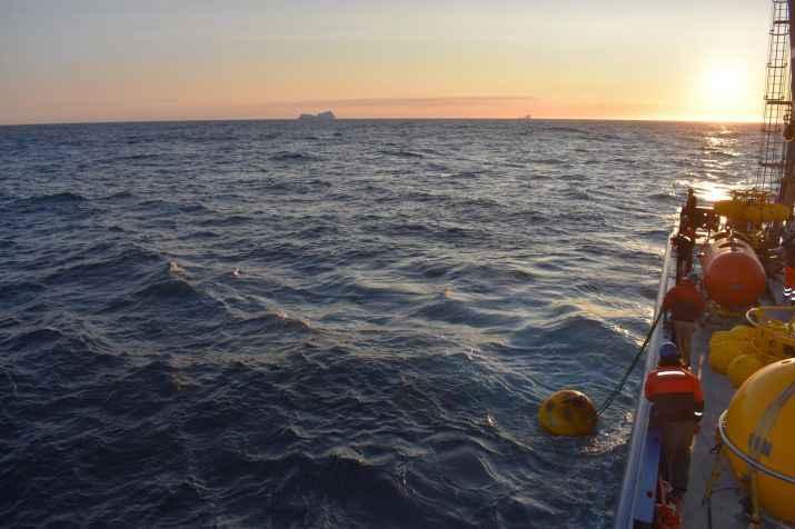 corriente del Atlántico norte