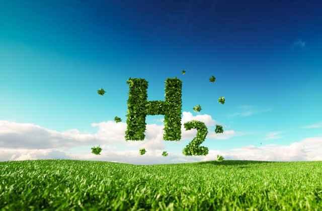 energía verde de hidrógeno