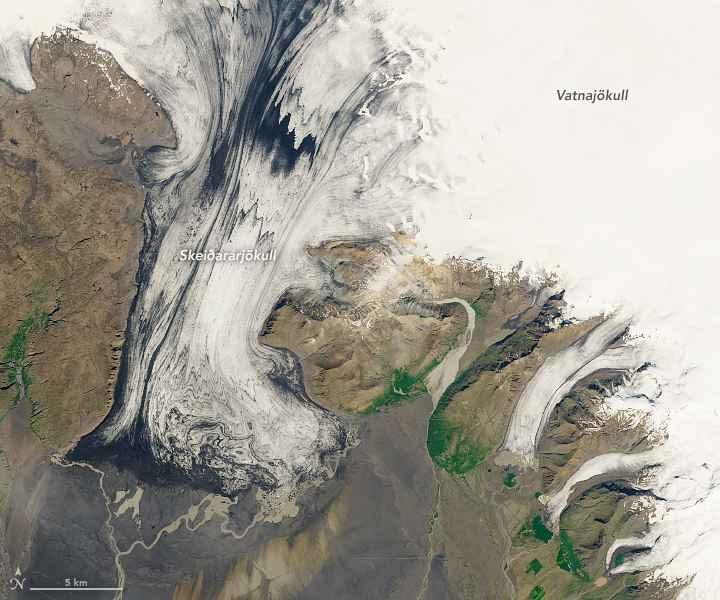 glaciar Skeiðarárjökull, Islandia