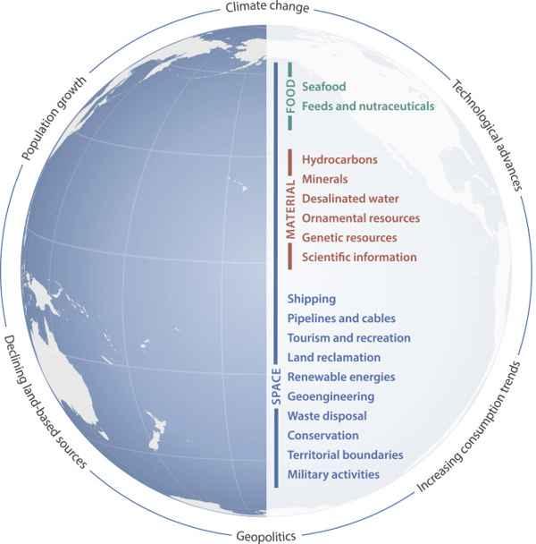 impactos en los océanos