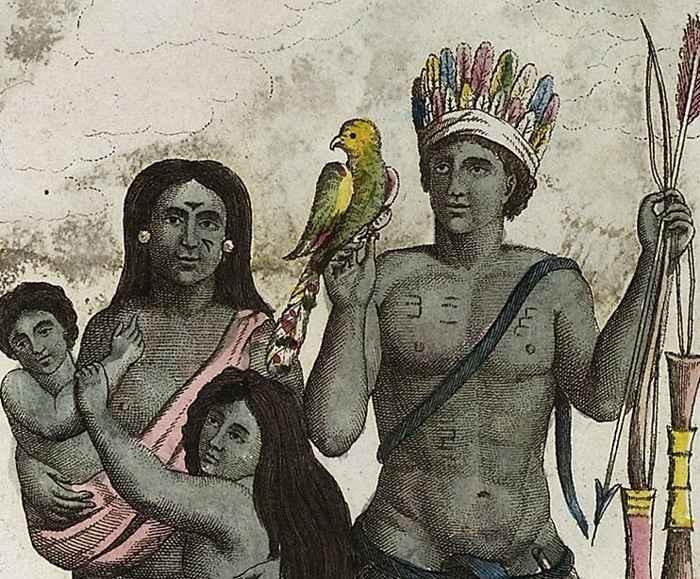 indios caribes