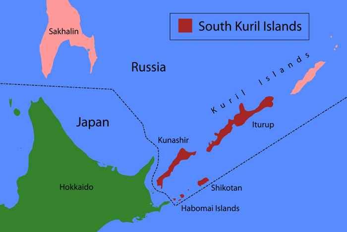 isla Iturup, mapa
