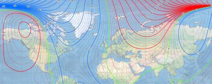 modelo magnético mundial