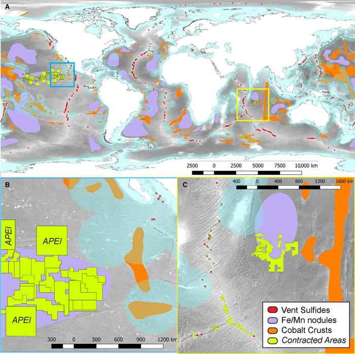 recursos minerales de aguas profundas