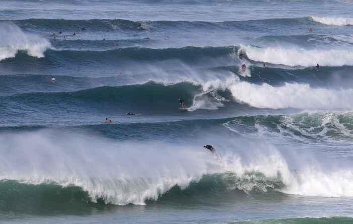 surf en las olas