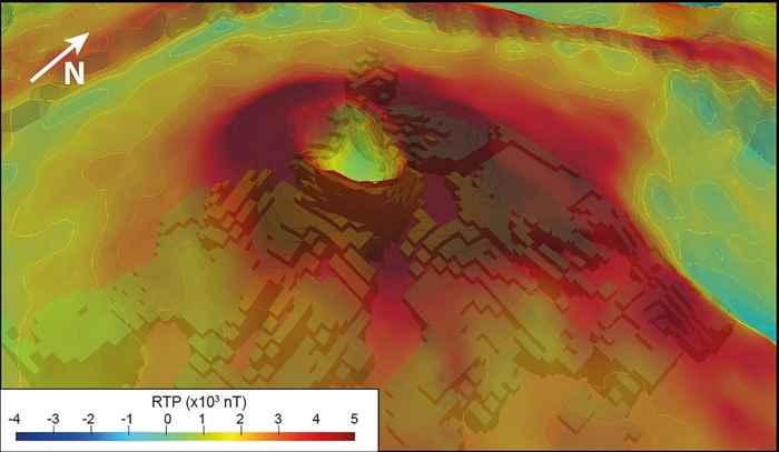 volcán Piton e la Fournaise en 3D