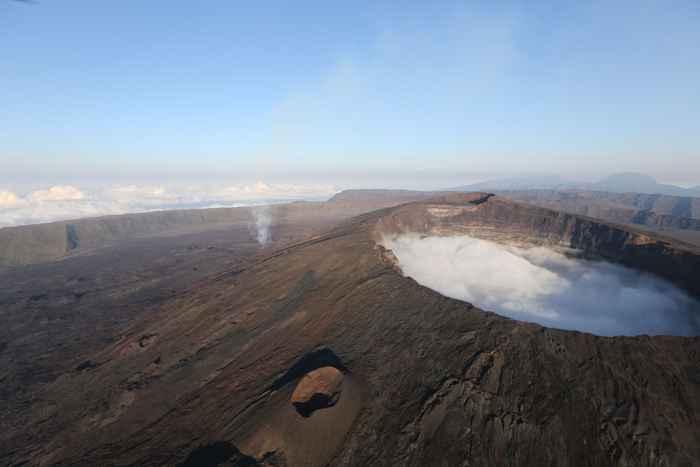 volcán Piton e la Fournaise