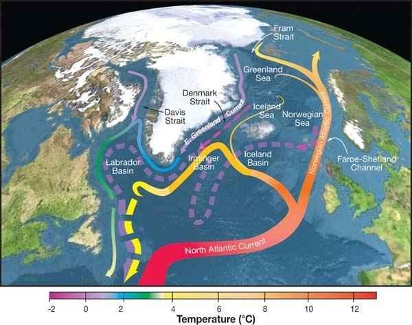 Circulación Meridional de Retorno del Atlántico Norte (AMOC)