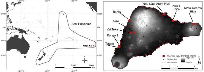 Rapa Nui y Polinesia
