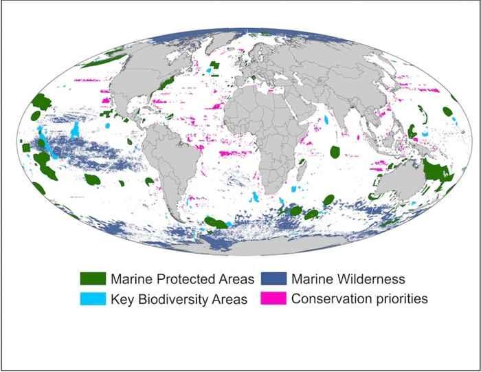 áreas marinas presentes y futuras