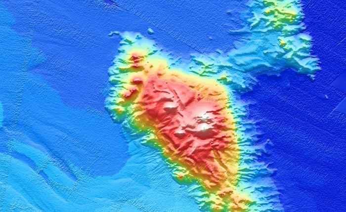 montaña submarina Turanganui Knoll