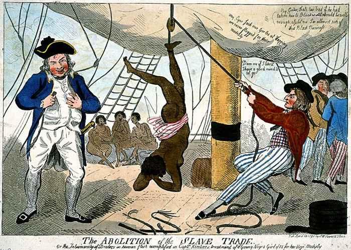 trata trasatlántica de esclavos