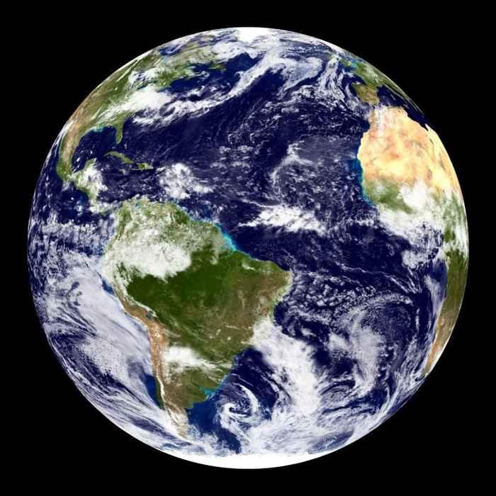 Tierra canica azul