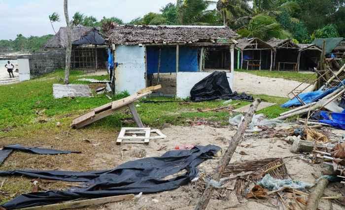 daños en Port Vila
