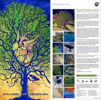 Día de la Tierra 50 aniversario póster
