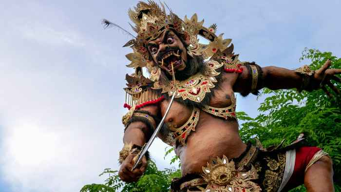 estatua Ogoh ogoh, Bali