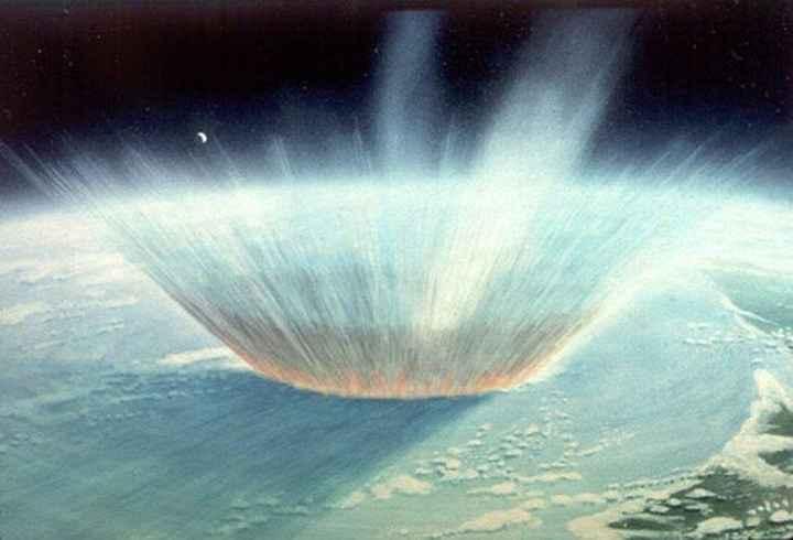 impacto de asteroide