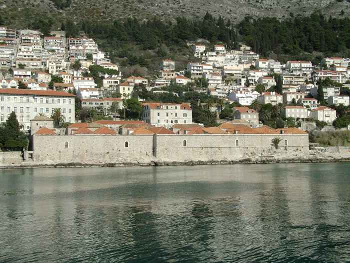 lazarettos en Dubrovnik