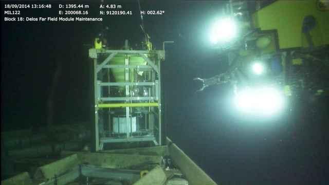 plataforma de observación submarina