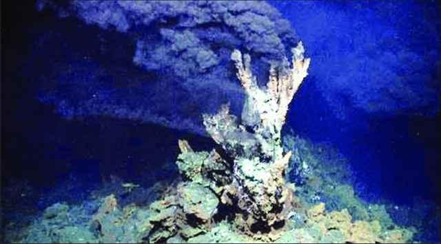 respiradero hidrotermal