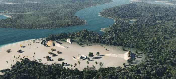 reconstrucción de Crystal River